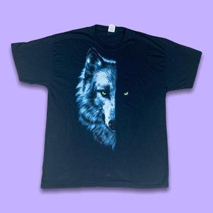 Wolf 2000s Graphic Tee